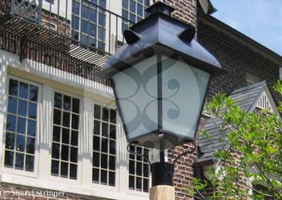 Birmingham Gas Lantern on Pole