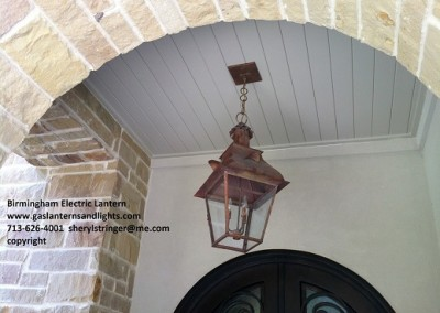Sheryl's Electric Country French Lantern