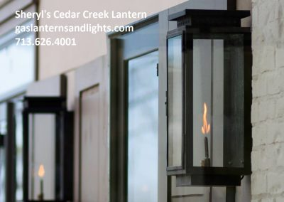 Sheryl's Cedar Creek Gas Lantern
