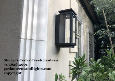 Cedar Creek Gas Lantern