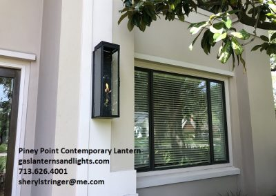 Sheryl's Contemporary Piney Point Light