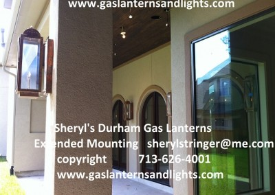 Sheryl's Durham Gas Lanterns in The Woodlands