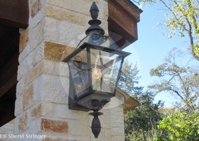 37. Durrell Gas Lanterns
