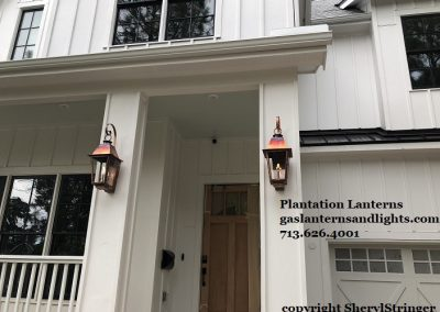 Farmhouse Gas Lamps