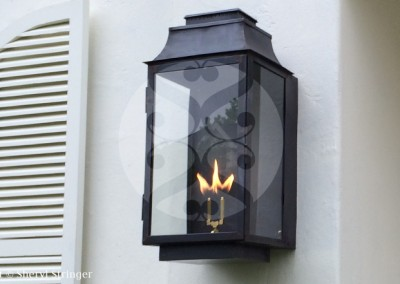6. Sheryl's Extra Large Flush Mount Gas Lanterns