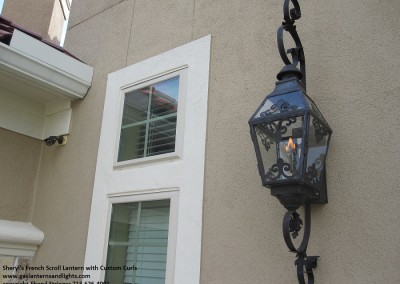 1.  Sheryl's French Scroll Gas Lantern with Custom Curls