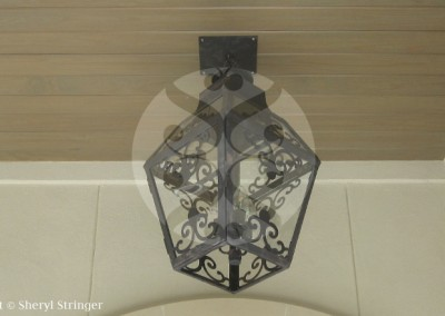 Sheryl's Extra Large French Scroll Lantern