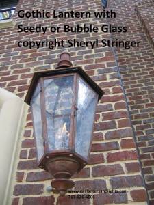 gas lantern options glass