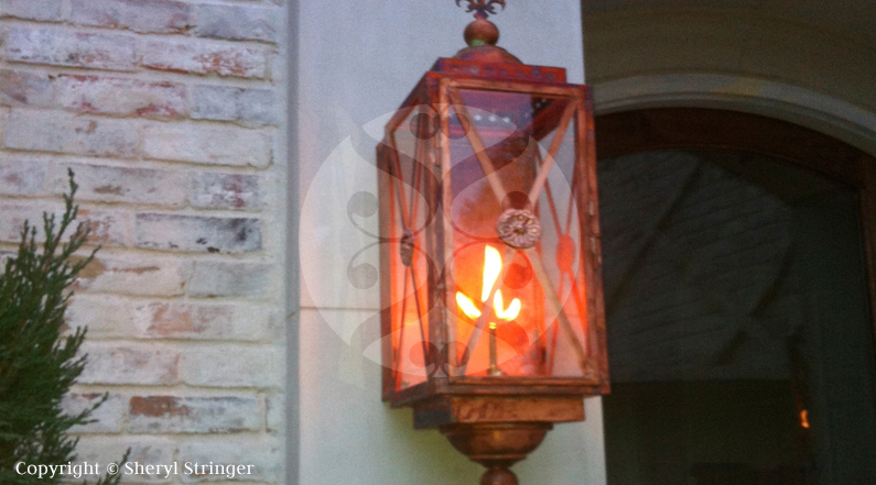 gas lantern options copper