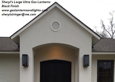 Large Ultra Gas Lanterns, Baton Rouge