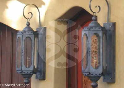 Sheryl's Moroccan Gas Sconces