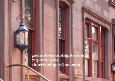 New York Style Gas Lights
