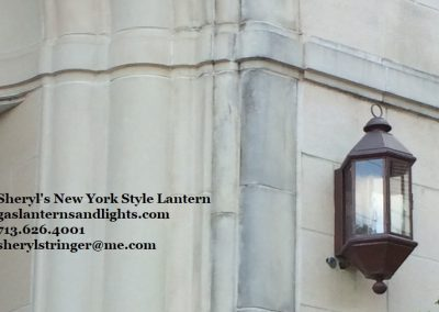 29. New York Gas Lanterns