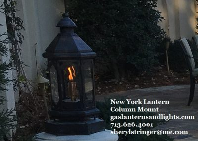 New York Gas Lantern