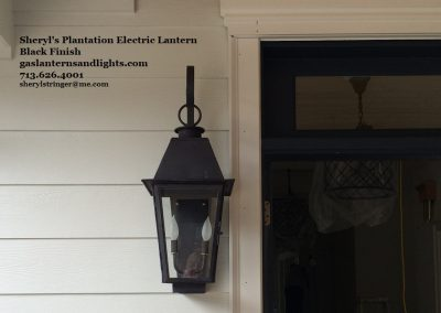 Plantation Electric Lantern