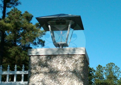 The Resort Gas Lantern