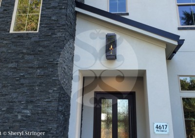 San Marcos Natural Gas Lantern with Electronic Ignition