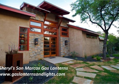 San Marcos Gas Lights with Straps