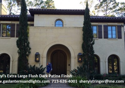 Extra Large Flush Mount  Tuscan Home