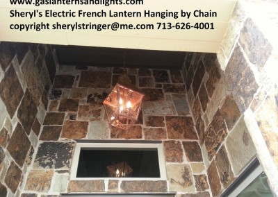 Large Hanging French Lantern