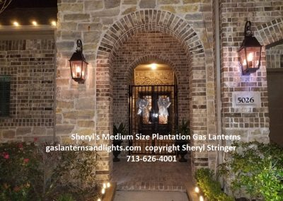 Sheryl's Plantation Gas Sconces