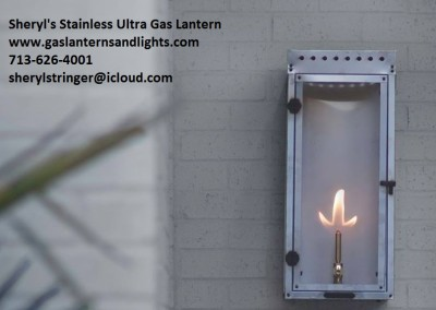 Sheryl's Stainless Ultra Gas Light