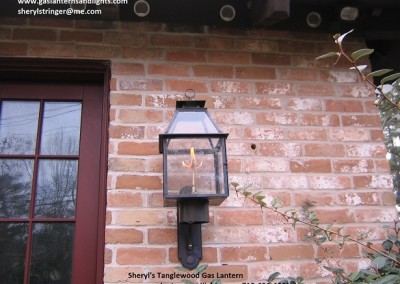 64.  The Tanglewood Gas Lantern