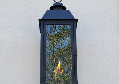 Transitional Gas Lanterns