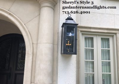 Large Style 3 Transitional Gas Lantern